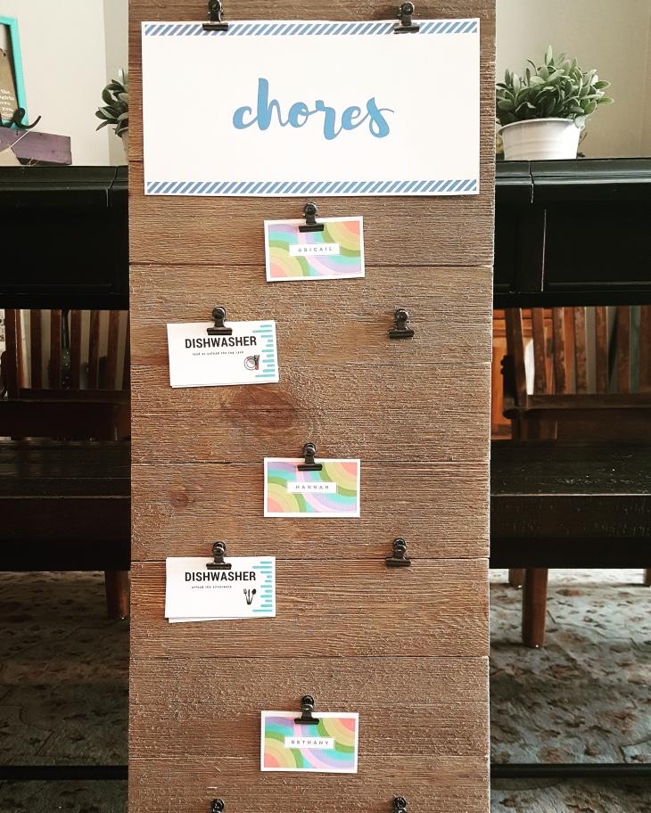 DIY chore chart2