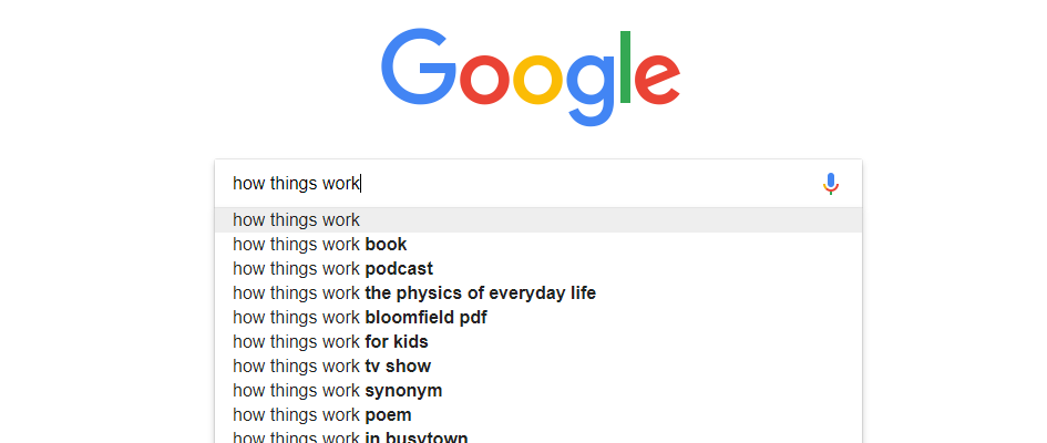 How things work and other probing questions that Google doesn't explain